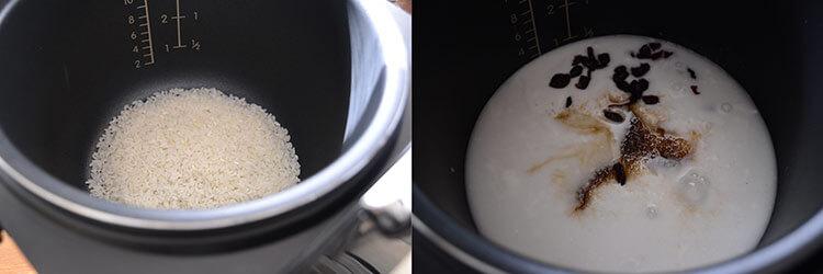 Orez cu lapte de cocos
