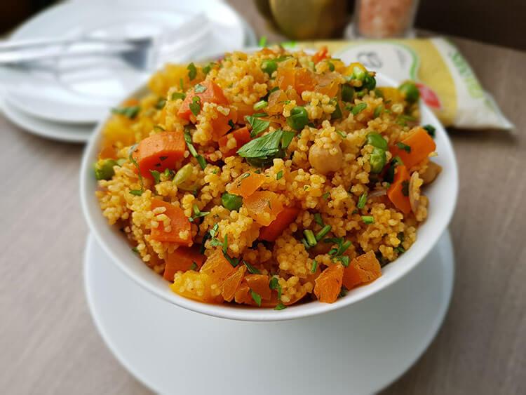 Couscous Marocan cu Legume