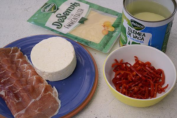 Placinta aperitiv cu telemea si leurda