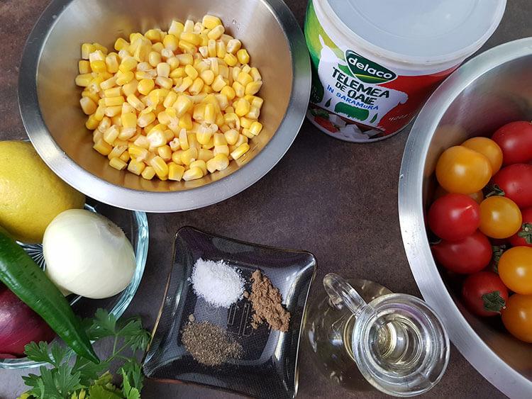 ingrediente salata