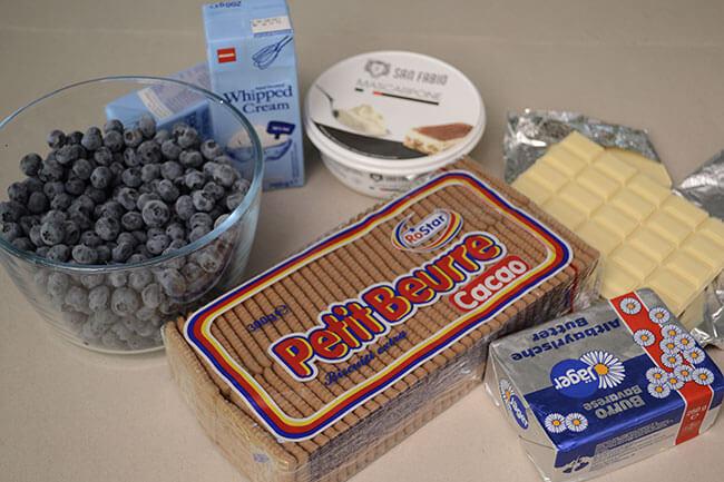 ingrediente cheesecake