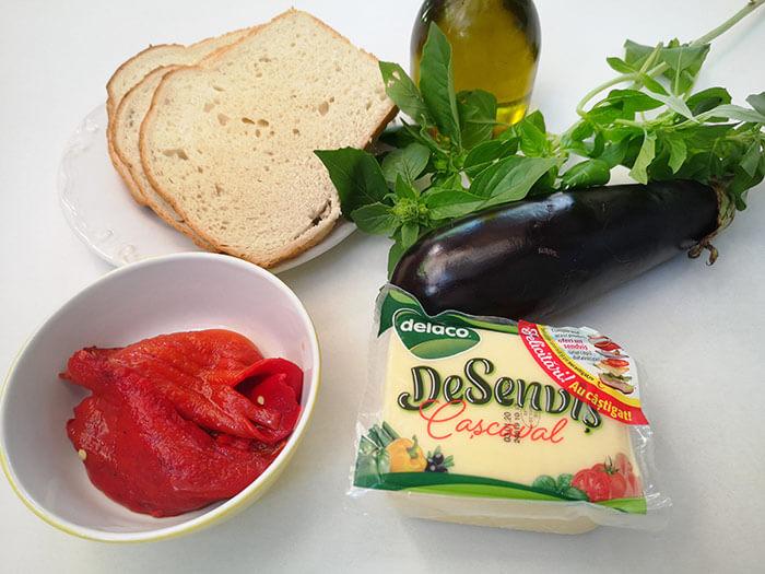 ingrediente sandvis