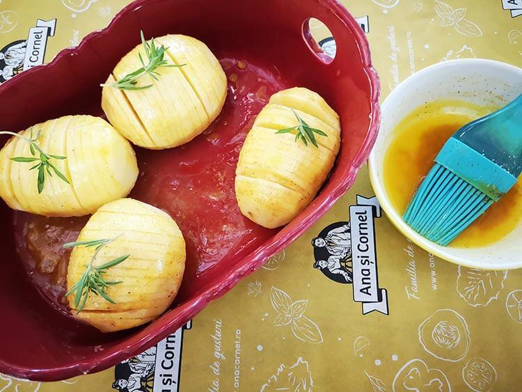 cartofi acordeon-coacere