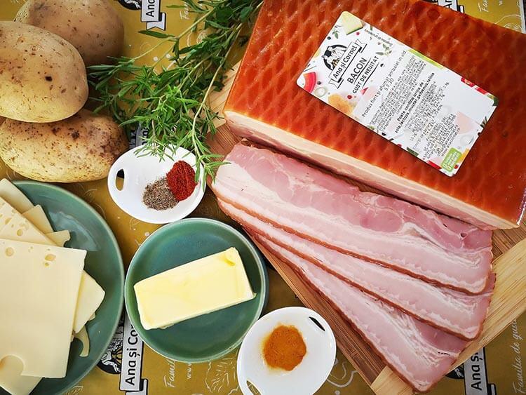 cartofi impanati- ingrediente