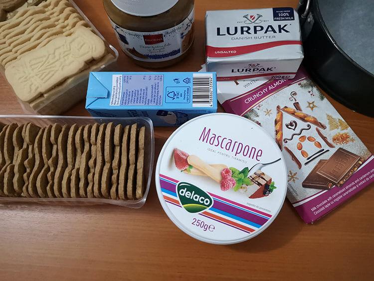 cheesecake spekulatius-ingrediente