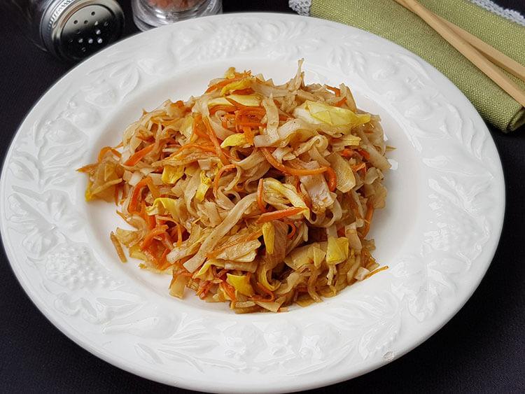 Taietei chinezesti cu legume