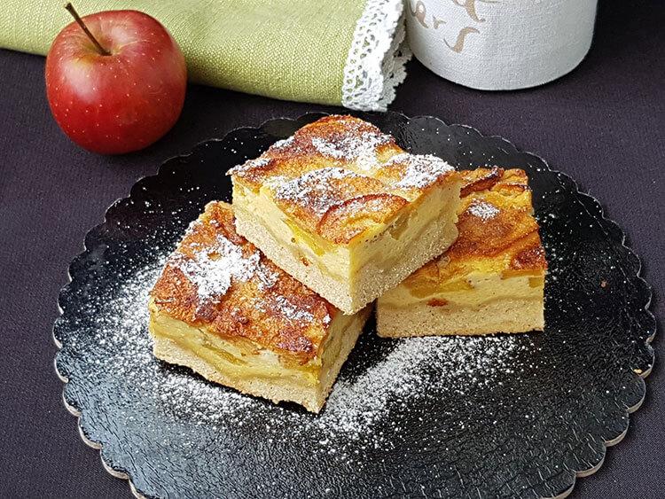 Prajitura cu mere Finlandeza