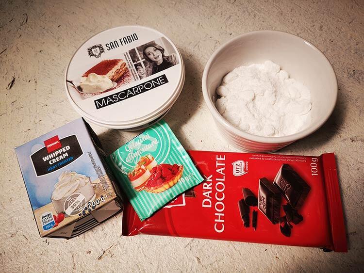 ingrediente crema de ciocolata