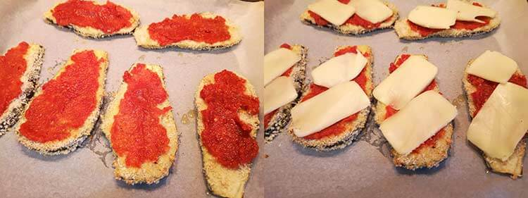 preparare vinete pane