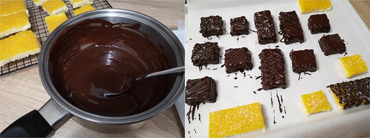 batoane cu ananas si ciocolata
