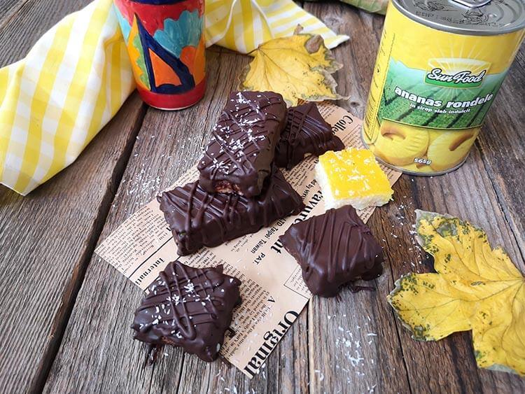 batoane cu cocos si ananas
