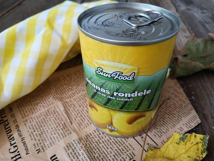 conserva ananas Sun Food