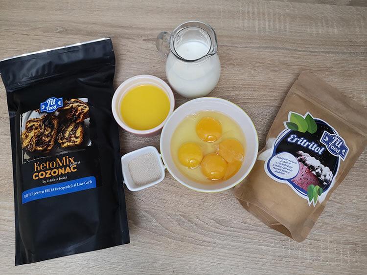 ingrediente aluat cozonac
