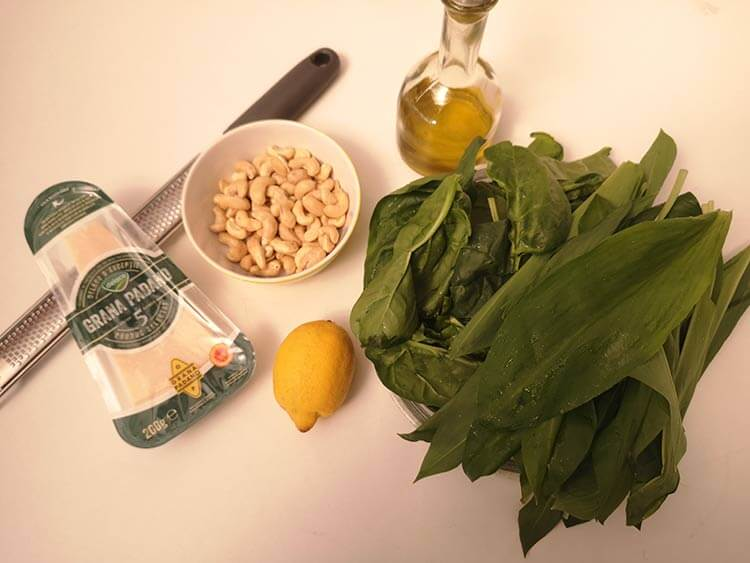 ingrediente pesto