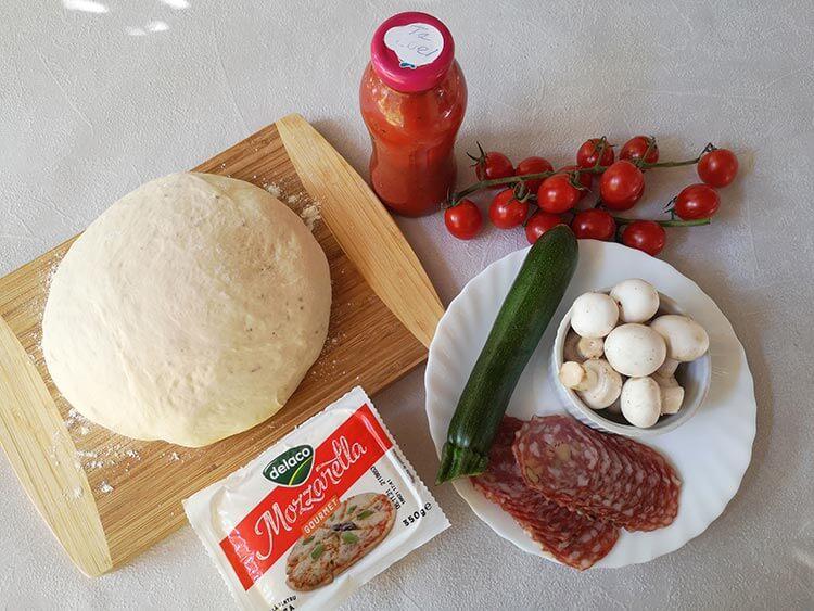 ingrediente pizza